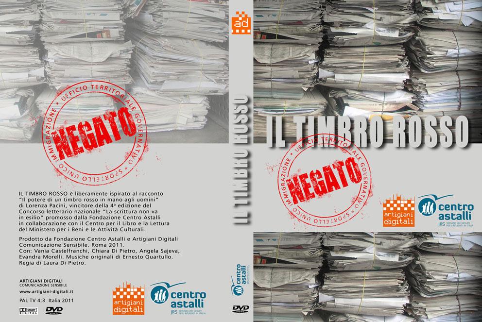 Coverbox DVD Il timbro rosso